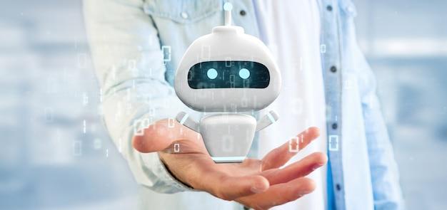 バイナリコードでchatbotを保持している実業家