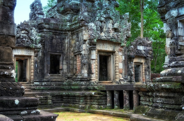 Chau say tevoda temple in angkor temples complex