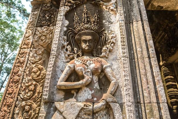 Храм чау сай тевода в ангкор вате
