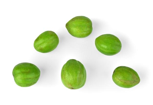 Chebulic myrobalans. fruit with medicinal properties.