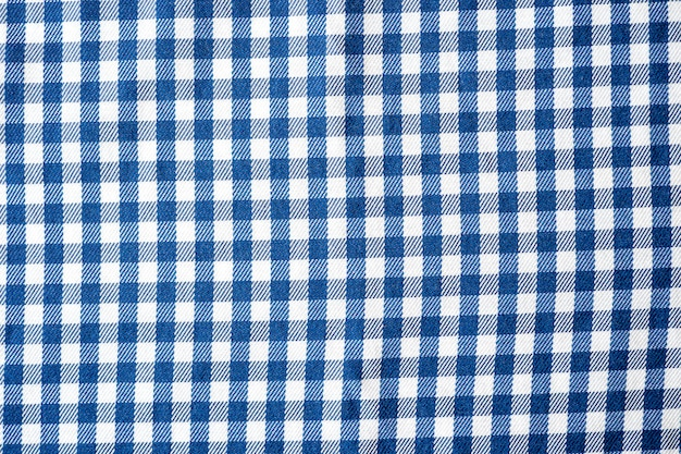 Checkered cloth pattern of the small cages on the fabrick seamless fabric cage