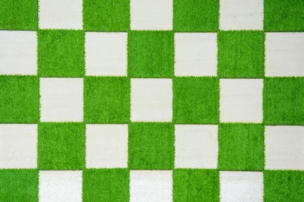 Checkers grass