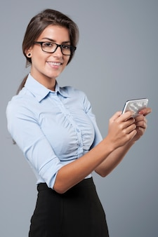 Проверка плана в смартфоне