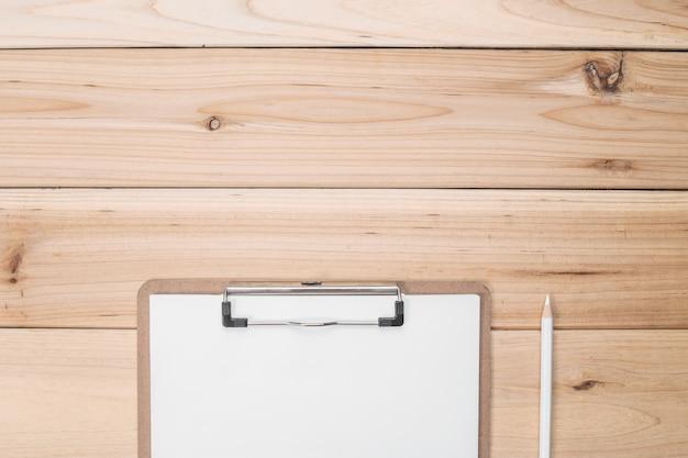 Checklist in a desk