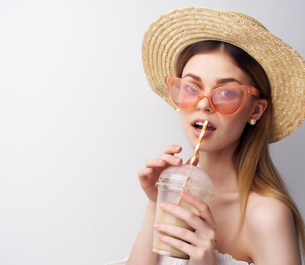 陽気な女性のジュエリーファッションサングラスの装飾
