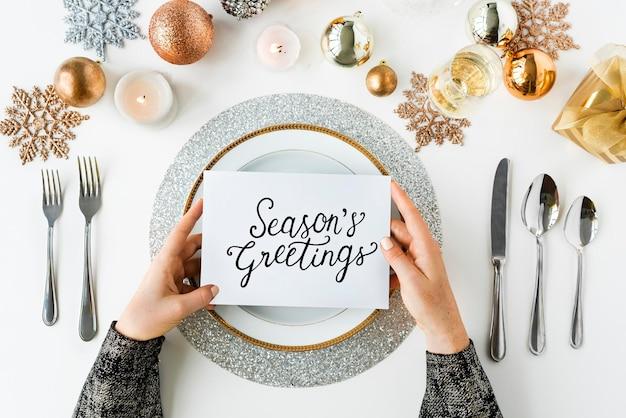 Saluti stagioni saluto anno nuovo 2017