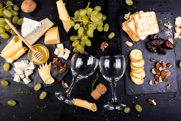 Cheese plate,