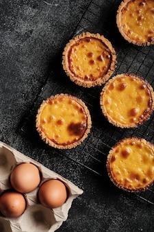 계란 치즈 타르트 평면도