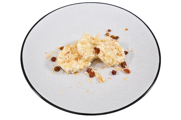 Cheesecake con una buona composizione senza zucchero