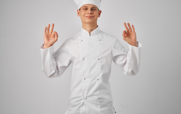 Шеф-повар профессиональная посуда ресторанное обслуживание приготовления пищи.