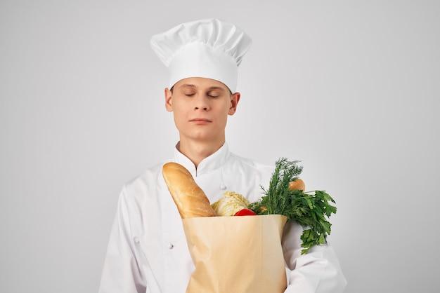 フードパッケージサービスの料理シェフ