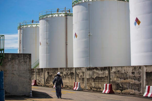 Chemical industry tank storage farm carbon steel the tank.