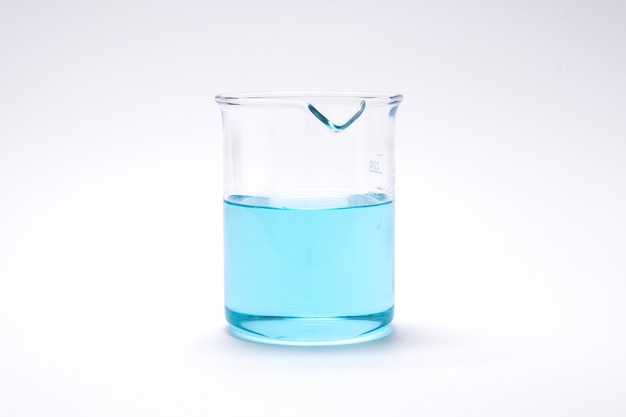 化学実験室研究ビーカーと試験管