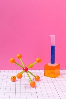 化学科目の配置静物