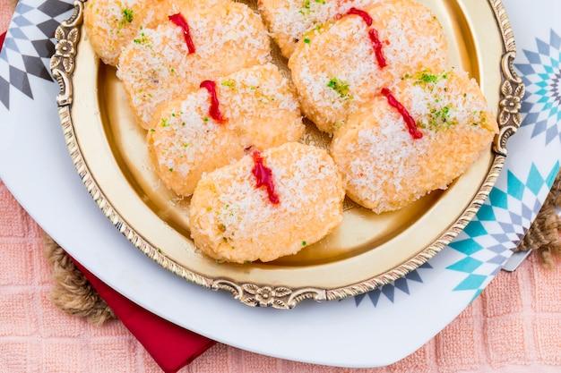 インドスウィートフードchena toast