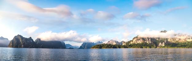Озеро чео лан, национальный парк као сок в таиланде
