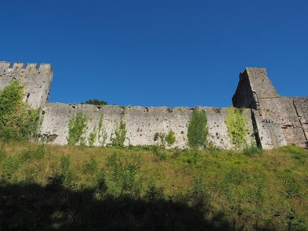 チェプストウのチェプストウ城遺跡