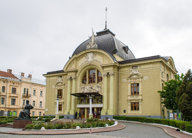 Chernivtsi ukrainian music and drama theater