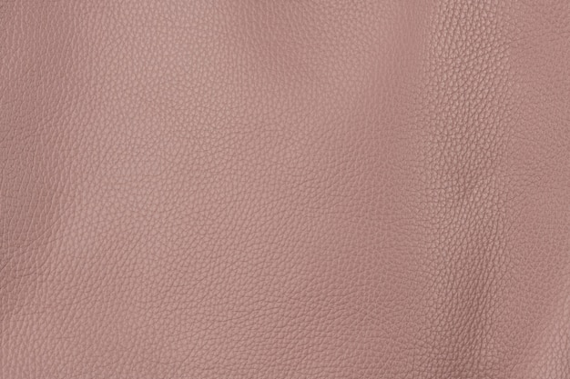 Cherry blossom pink textured smooth leather surface background, big grain