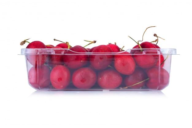 パッケージデザイン要素として白い背景で隔離の桜