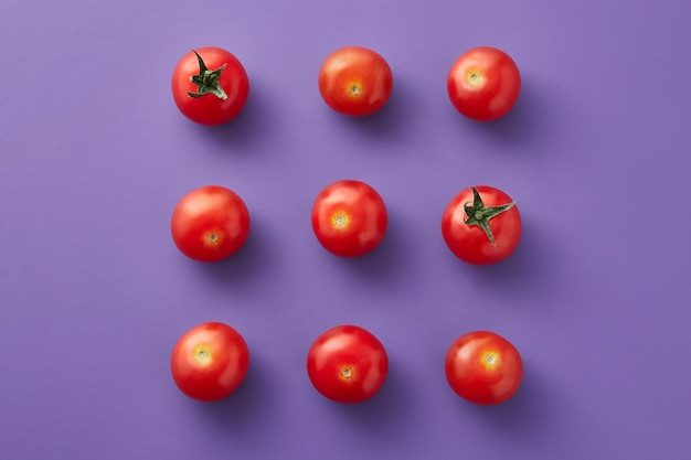 Cherry tomatoes composition