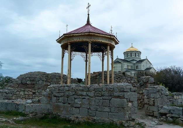 세바스토폴 교회의 고대 그리스 유적 체르소네소스