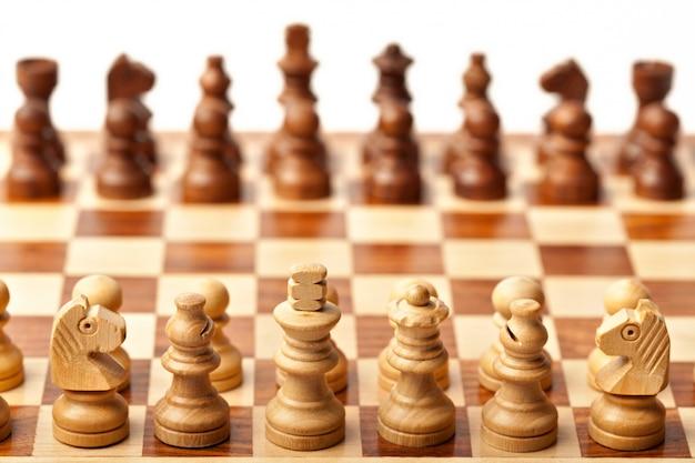 チェス-ゲームの始まり