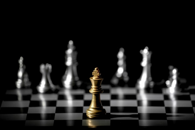 Chess board game for competition and strategy