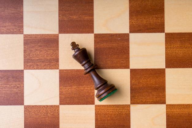 チェスのビジネスコンセプト、リーダー、成功