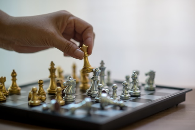 Chess, chess competition, winning in chess, victory game of competition