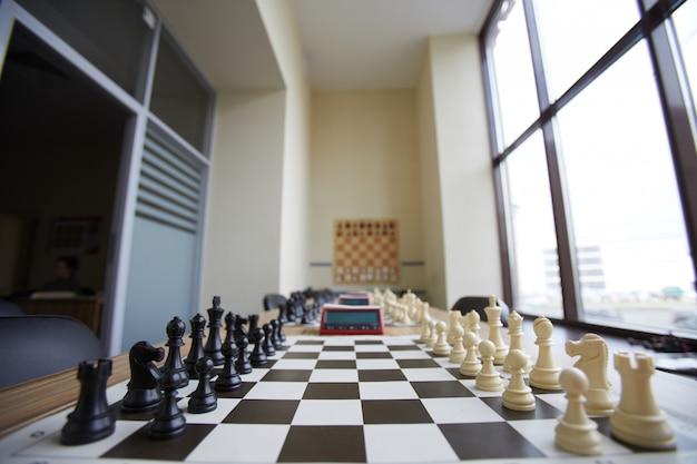 Chess club classroom