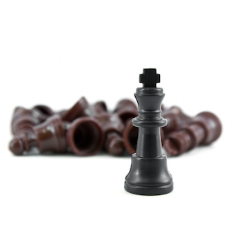 Chess corporate outwit defeated pieces