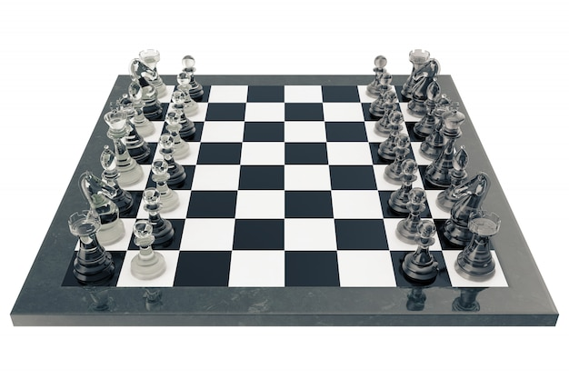 Chess fights isolated