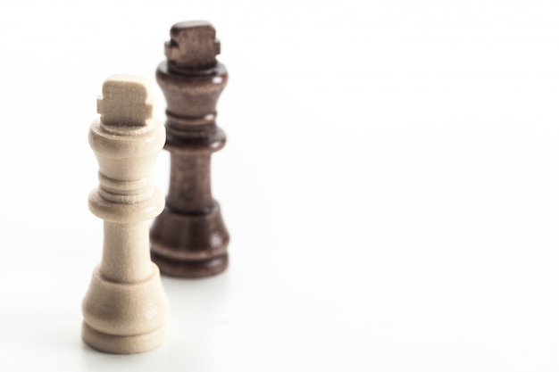 Chess figure isolated
