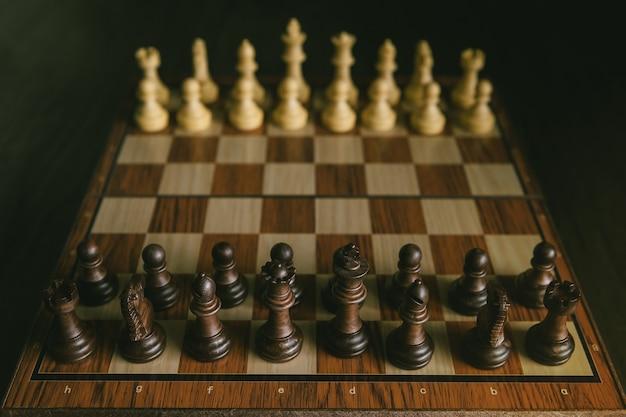 チェスゲームは戦争を開始させる