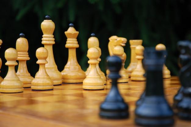 チェスのゲームオープニング-最初に白いポーンで移動する