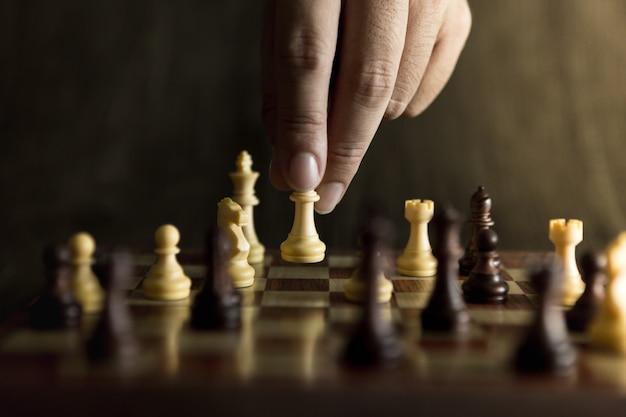 チェスゲーム、コンセプト獲得戦略