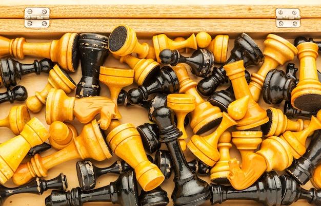상자에 체스