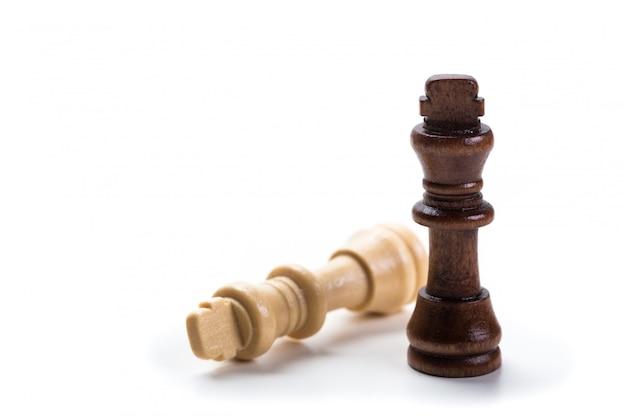 체스 흰색 절연