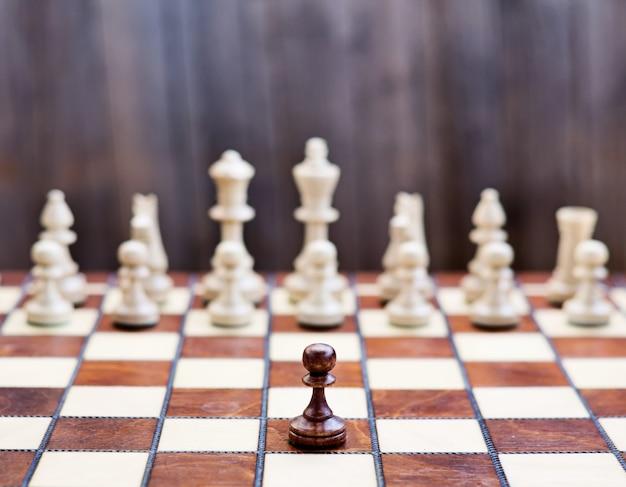 チェス盤のチェス