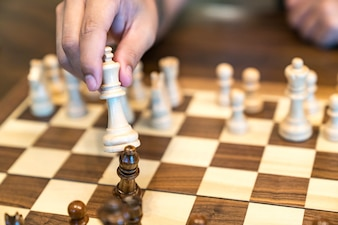 Chess, Strategy, Risk.