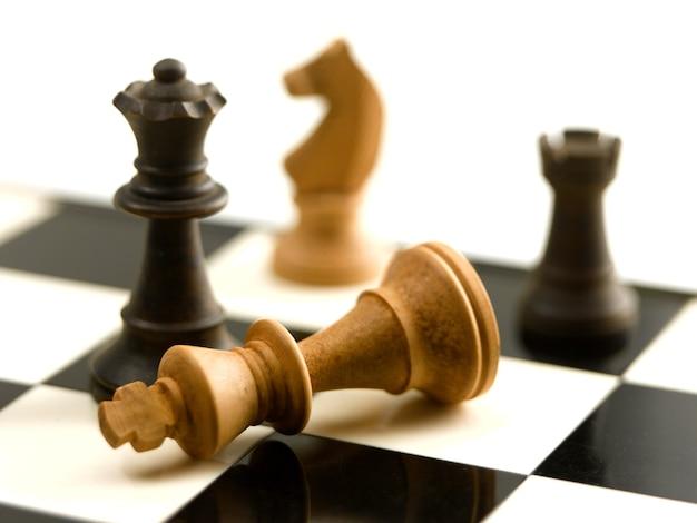 チェスのテーブルボード