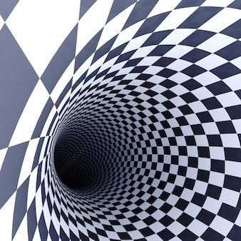 Шахматный туннель в бесконечность и тьму