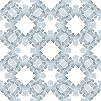 シェブロン水彩パターン。黒と白のかっこいい自由奔放に生きるシックな夏のデザイン。テキスタイル対応の珍しいプリント、水着生地、壁紙、ラッピング。緑の幾何学的なシェブロン水彩ボーダー。