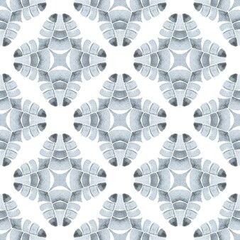 Chevron watercolor pattern. black and white sublime boho chic summer design. textile ready surprising print, swimwear fabric, wallpaper, wrapping. green geometric chevron watercolor border.