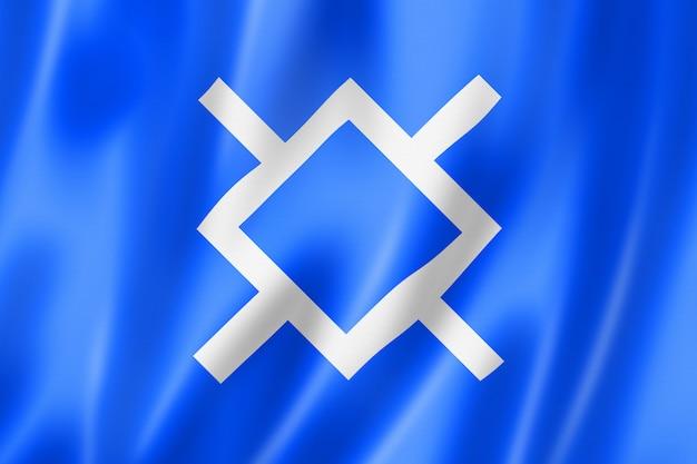 Cheyenne people ethnic flag, usa