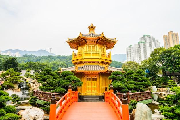 Chi lin храм в нан lian сад