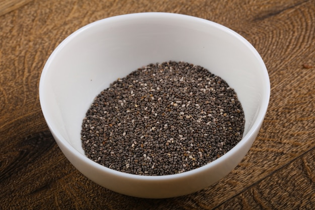 Chia seeds Premium Photo