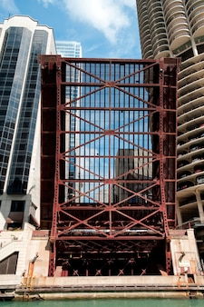 Chicago, dearborn street drawbridge