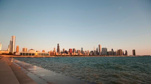Чикаго, озеро мичиган